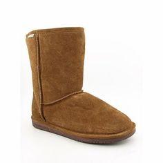 Ugg Women Winter Boots Bearpaw Emma Short Boots Winter Snow Boots Womens  Suede rubber sole Shaft