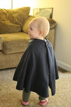 Easy, No-Sew Car Seat Poncho. The Dollar Tree might have these fleece blankets!
