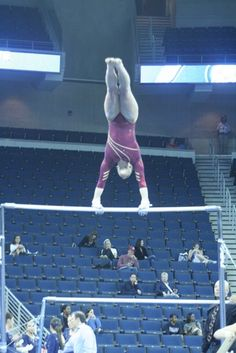 NCAA Gymnastics - Uneven bars bars are my fav except 4 the huge rips u get on your hands lol