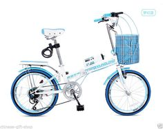 "20""Inch mini folding bicycle Foldable Portable bike Ladies Bike-7 Speed X-860  #"