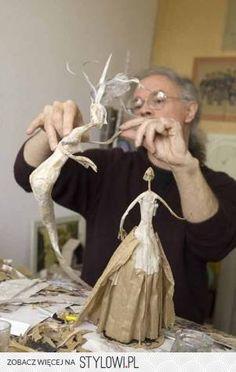 paper maché dolls in progress Bernard Jeunet / muñecas de papel maché Paper Mache Projects, Paper Mache Clay, Paper Mache Sculpture, Paper Mache Crafts, Sculpture Art, Armature Sculpture, Art Crafts, Art Projects, Clay Dolls