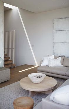 Modern Living Room With Hardwood Floors World Market BasketWeave - Cb2 element coffee table