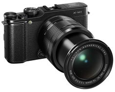 Fuji X-M1 mirrorless camera, best mirrorless camera for beginners