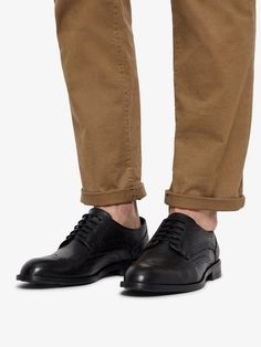 Bianco Elegante Herren-Brogue Schuhe für 109,99€. Obermaterial aus Leder,.  OTTO 112876a4ae