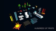 3D Modular Sci-Fi Environment Pack on Unity Asset Store 9