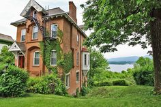 OldHouses.com - 1855 Country Gothic - 1855 Country Gothic Home w/Hudson River Views! in Newburgh, New York