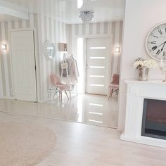 The entrance of our home Have a nice evening House Design, Beautiful Houses Interior, Interior, Home, Pretty Bedroom, House Interior, Coastal Living Rooms, Bedroom Deco, Interior Design