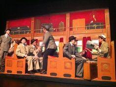 Rock Island train car set. Music Man 2012 Lovejoy HS Texas kkarnuta