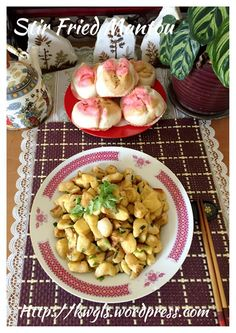 Stir Fried Mantou (炒馒头)#guaishushu #kenneth_goh      #stir_fried_mantou   #炒馒头