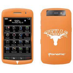 Texas Longhorns Burnt Orange BlackBerry Storm Silicone Case - $7.59
