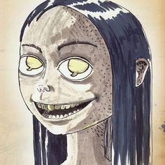#art #artist #instaart #instaartist #artsanity #arthabit #sketch #dan_ene #alsace #strasbourg #dailysketch #dailypic #dailyart #dailydrawing #drawing #illustration #doodle #lineart #markers #weird #spooky #instadaily #speechbubble #smile #longhair #girl #Photoshop