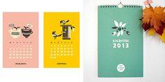 2013 Calendar in Finnish from Polkka Jam