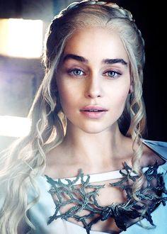 She is amazing! Emilia Clarke aka Daenerys Targaryen #Khaleesi