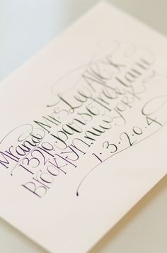 @leelee21 this reminds me of you!  calligraphy