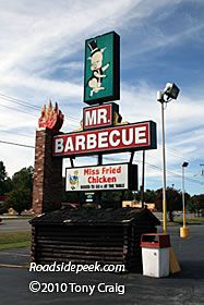 Mr. Barbeque-- Winston-Salem NC--Yes, It's A Hole In the Wall...And, Yes, It's Been Here In My Hometown For 40+ Years...Still, The VERY BEST Carolina Lexington-Style BBQ To Be Found...And The Catering Services Are Great For You Next Get-Together...My Husband's Very Favorite Fast Food Place In the Whole World!!  Great Food!!