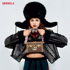 Selena Gomez featured in the Louis Vuitton Series 5 campaign by Nicolas Ghesquière, photographed by Bruce Weber.