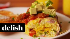 Omelet in a Bag | Delish - YouTube