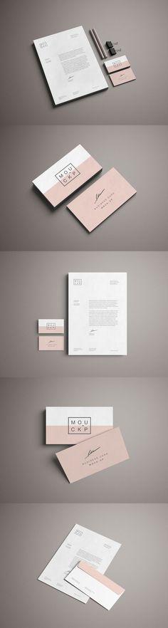 Advanced Branding Stationery Mockup | Pixlov