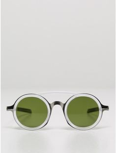 mykita / damir doma sunglasses in silver/green Oak Sunglasses 2016, Ray Ban Sunglasses Sale, Sunglasses Outlet, Sunglasses Online, Mirrored Sunglasses, Trending Sunglasses, Cool Glasses, Mens Glasses, Devil Wears Prada