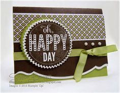 "This is my ""Oh Happy Day"" Card for the DOstamper STARS Thursday Home Sweet Home Challenge Card DSC#080. You can find the complete supply list and the directions on my blog @ http://http://craftyandcreativeideas.blogspot.com/2014/04/oh-happy-day-dsc080-thursday-challenge.html"