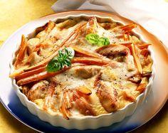 Comment faire un bon gratin de légumes à la dinde ? Voici un délicieux gratin avec des légumes et de la volaille. Un plat idéal pour réunir...