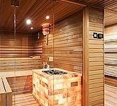 Individual sauna wellness at home