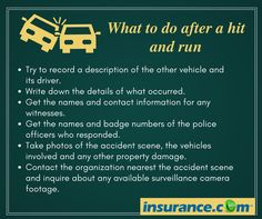 With no at-fault driver to pay the bills, you must rely on your own #insurance after a hit-and-run accident.
