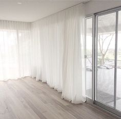 Curtains Curtains The post Curtains appeared first on Vardagsrum Diy. Floor To Ceiling Curtains, Home Curtains, Curtains With Blinds, Sheer Curtains, Living Room Decor, Bedroom Decor, Curtain Designs, Home Decor Store, Home Interior Design