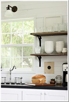 chalkboard painted countertops how-to