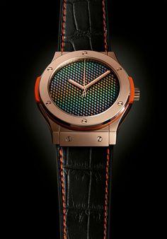 Hublot et Carlos Cruz-Diez - Passion Horlogère Rolex Air King, Hublot Watches, Rolex Models, Watch Model, Man Decor, Maria Teresa, Accessories, Swatch, Passion