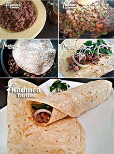 Tantuni Recipe, How To Turkish Recipes, Italian Recipes, Ethnic Recipes, Meat Recipes, Healthy Recipes, Taco, Middle Eastern Recipes, Iftar, Quinoa