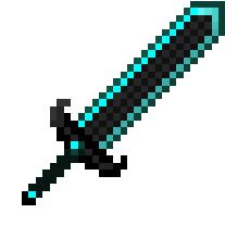 Sword Of herobrine Hama Minecraft, Minecraft Sword, Minecraft Blueprints, Minecraft Designs, Minecraft Pixel Art, Minecraft Party, Minecraft Skins, Minecraft Buildings, Perler Bead Art