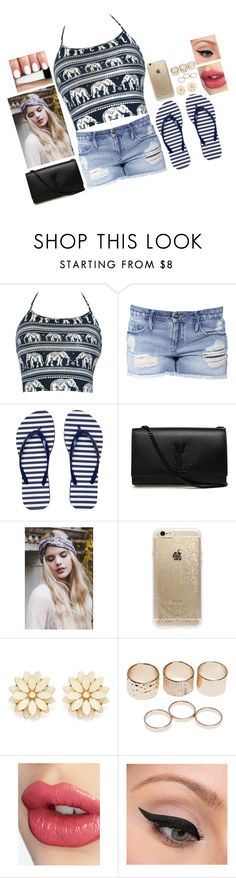 """Untitled #552"" by victoria-pittore ❤ liked on Polyvore featuring Black Orchid, Armani Exchange, Yves Saint Laurent, Rifle Paper Co, Forever 21, Wet Seal, Charlotte Tilbury, LORAC, polyvorecommunity and polyvoreeditorial"