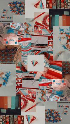 Iphone Wallpaper Glitter, Disney Phone Wallpaper, Bear Wallpaper, Iphone Background Wallpaper, Iphone Wallpaper Tumblr Aesthetic, Aesthetic Pastel Wallpaper, Aesthetic Wallpapers, Collage Background, Sunflower Wallpaper