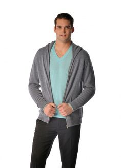 """This is a pure cashmere hoodie for men. Luxurious soft and really warm our sweaters are made from the finest grade of cashmere. These sweaters are made from """"A-Grade"""" 4 ply pure cashmere yarn and offer unsurpassed warmth and softness. #warm #soft #style #stylist"""