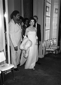 First Lady, mother, woman-about-town, editor, and global style icon, Jackie Kennedy Onassis.