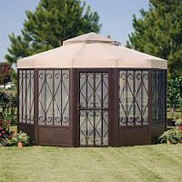 Replacement Canopy For Sams Club Sunhouse Gazebo By Garden Winds