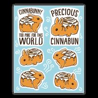 Cinnabunny Sticker Sheets Sticker
