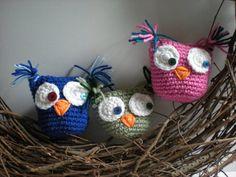 PATTERN  Owl tooth pillow stuffed owl crochet owl by swellamy, $5.00