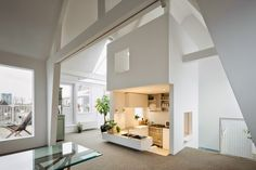 A white apartment in Amsterdam