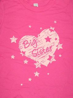 Big Sister Shirt  8 Colors Available  Kids T shirt by redbrickwall, $15.95