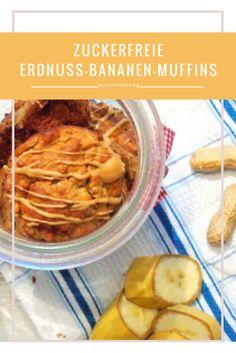 Zuckerfrei, mega-lecker und perfekt als Frühstück oder einfach so für Zwischendurch: http://www.dilavskitchen.de/bananen-erdnuss-muffins/  #banane #banana #erdnuss #peanut #muffin #breakfast #frühstück #clean #zuckerfrei