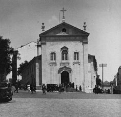 Igreja de S. Jorge, Arroios (E. Portugal. c. 1940)