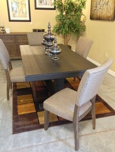 Ranimar Dining Room Chair Colors: Medium Brown, Beige With its ...