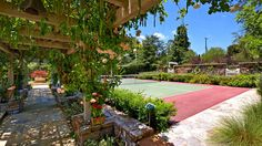 Home of the Week | San Juan Capistrano  Holy smokes - this landscape backyard is gorgeous - the pickleball court being my favorite - ha!