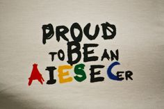I'm proud to be an AIESECer! #AIESEC