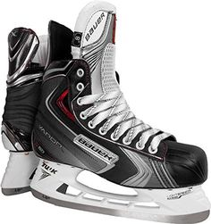 6479051cb41 Bauer Vapor X4.0 Ice Hockey Skates (Junior) by Bauer.  149.99. Upper  Features    Quarter Package - Sublimated silver tech nylon with  thermoformed x…