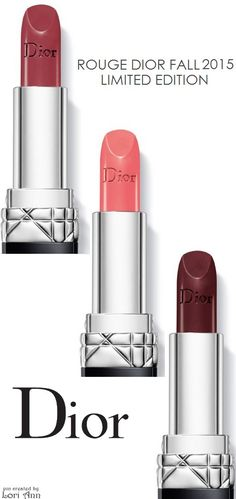 Dior Rouge Lip Fall 2015 - Limited Edition | House of Beccaria#