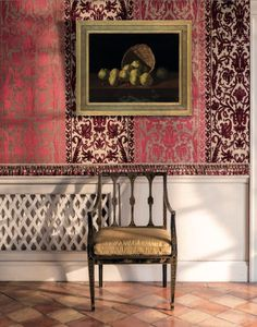 Drue Heinz Auction at Christie's Mews House, Sutton Place, Chinoiserie Chic, Wall Finishes, Interior Decorating, Interior Design, World Of Interiors, Colour Schemes, Auction