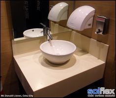 Quality material and great workmanship are the best words to describe SOLFLEX Solid Surface. Visit us at http://solflex.com.ph/